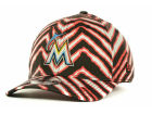 Miami Marlins New Era MLB Zubaz 39THIRTY Cap Stretch Fitted Hats