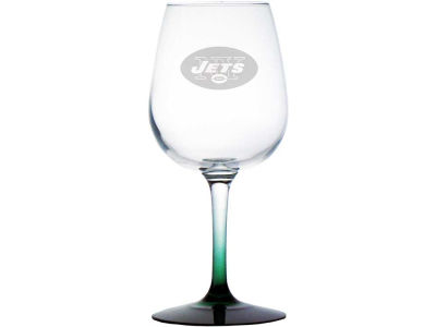 Satin Etch Wine Glass