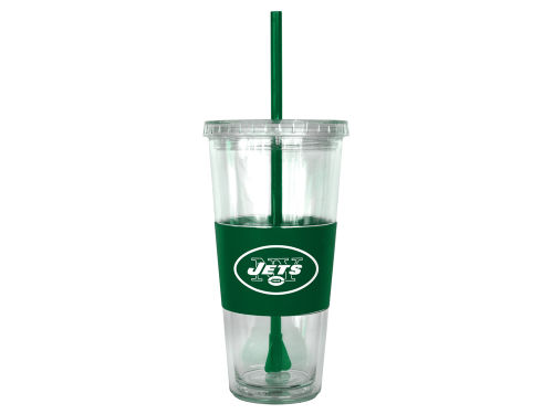 New York Jets Boelter Brands 22oz. Tumbler with Straw