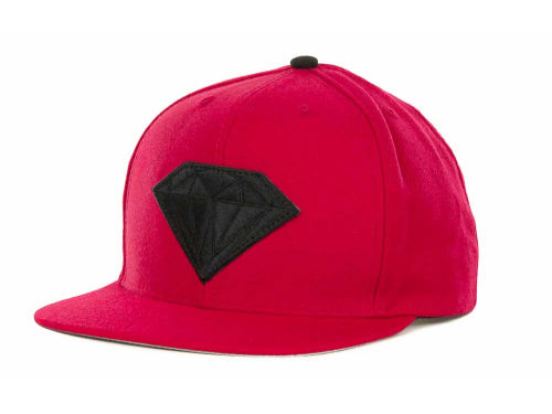 Diamond Emblem Snapback Cap Hats