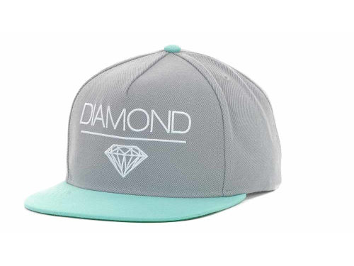 Diamond Whitespace Snapback Cap Hats
