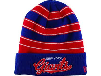New York Giants NFL Bandwidth Knit Hats