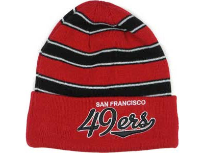 San Francisco 49ers NFL Bandwidth Knit Hats