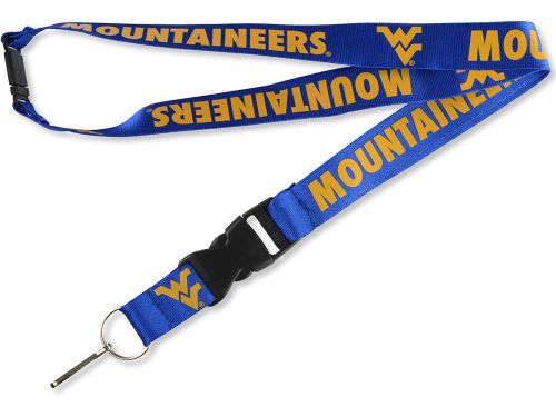 West Virginia Mountaineers Aminco Inc. Lanyard