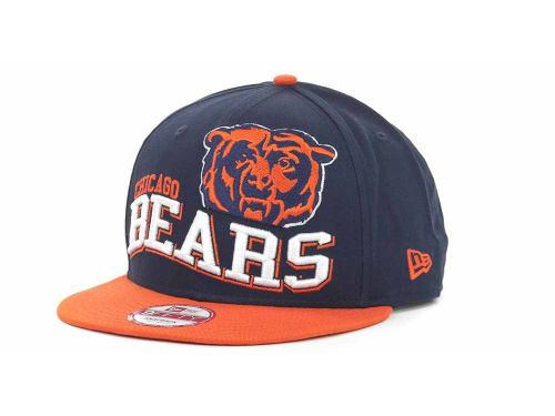 Chicago Bears New Era NFL Wave Snapback 9FIFTY Cap Hats