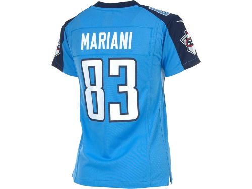 Tennessee Titans Marc Mariani Nike NFL Youth Game Jersey