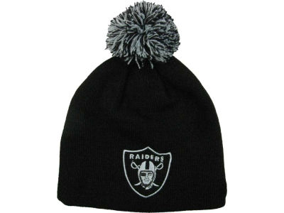 Oakland Raiders NFL Pom Pom Pop Knit Hats