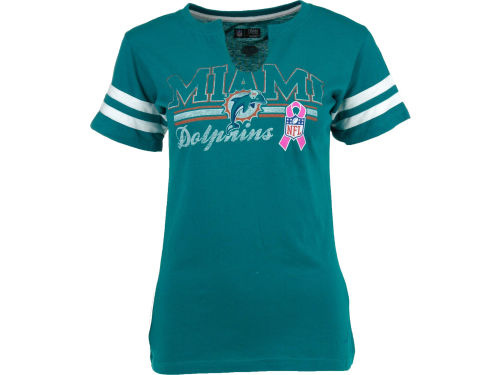 Miami Dolphins VF Licensed Sports Group NFL Womens BCA 2012 Football T-Shirt