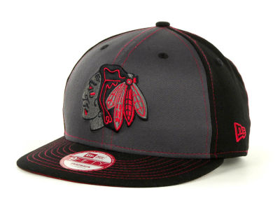 Chicago Blackhawks NHL SnapInPop Snapback 9FIFTY Cap Hats