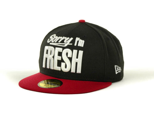 New Era Sorry I'm Fresh 59FIFTY Cap Hats