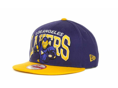 Los Angeles Lakers NBA Chalk Up Hero Snapback 9FIFTY Cap Hats