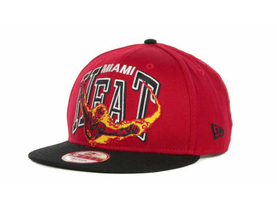 Miami Heat NBA Chalk Up Hero Snapback 9FIFTY Cap Hats
