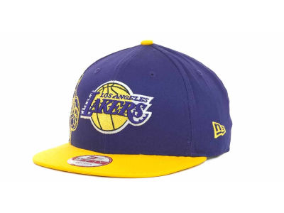 Los Angeles Lakers NBA Side Team Up Snapback 9FIFTY Cap Hats