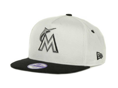 Miami Marlins MLB Kids Turnover Snapback 9FIFTY Cap Hats