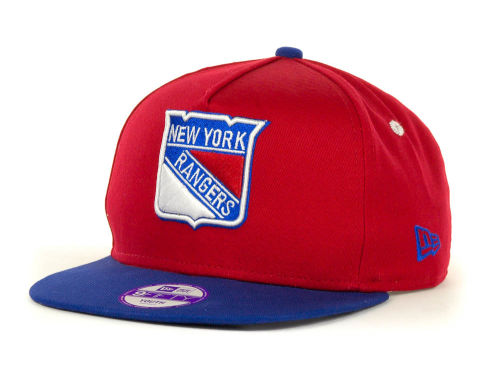 New York Rangers New Era NHL Kids Turnover Snapback 9FIFTY Cap Hats