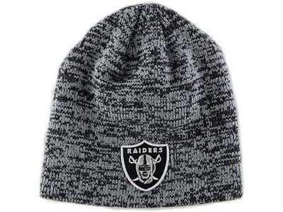 Oakland Raiders NFL Schism Knit Hats