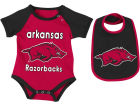 Arkansas Razorbacks Colosseum NCAA Newborn Junior Creeper/Bib Set Infant Apparel