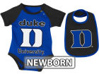 Duke Blue Devils Colosseum NCAA Newborn Rocker Bib/Bodysuit Set Infant Apparel
