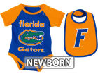 Florida Gators Colosseum NCAA Newborn Rocker Bib/Bodysuit Set Infant Apparel