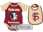 Florida State Seminoles Colosseum NCAA Newborn Rocker Bib/Bodysuit Set Infant Apparel