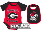 Georgia Bulldogs Colosseum NCAA Newborn Rocker Bib/Bodysuit Set Infant Apparel
