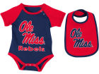 Mississippi Rebels Colosseum NCAA Newborn Junior Creeper/Bib Set Newborn & Infant