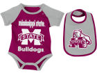 Mississippi State Bulldogs Colosseum NCAA Newborn Junior Creeper/Bib Set Infant Apparel