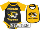 Missouri Tigers Colosseum NCAA Newborn Rocker Bib/Bodysuit Set Infant Apparel
