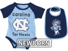 North Carolina Tar Heels Colosseum NCAA Newborn Rocker Bib/Bodysuit Set Infant Apparel