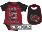 South Carolina Gamecocks Colosseum NCAA Newborn Rocker Bib/Bodysuit Set Infant Apparel