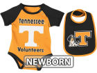 Tennessee Volunteers Colosseum NCAA Newborn Rocker Bib/Bodysuit Set Infant Apparel
