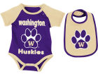 Washington Huskies Colosseum NCAA Newborn Junior Creeper/Bib Set Infant Apparel