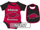 Arkansas Razorbacks Colosseum NCAA Infant Rocker Bib/Bodysuit Set Infant Apparel