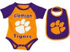 Clemson Tigers Colosseum NCAA Newborn Junior Creeper/Bib Set Newborn & Infant