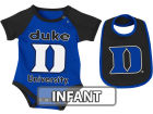 Duke Blue Devils Colosseum NCAA Infant Rocker Bib/Bodysuit Set Infant Apparel