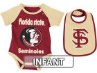 Florida State Seminoles Colosseum NCAA Infant Rocker Bib/Bodysuit Set Infant Apparel