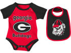 Georgia Bulldogs Colosseum NCAA Newborn Junior Creeper/Bib Set Newborn & Infant