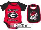 Georgia Bulldogs Colosseum NCAA Infant Rocker Bib/Bodysuit Set Infant Apparel