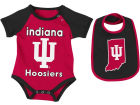 Indiana Hoosiers Colosseum NCAA Newborn Junior Creeper/Bib Set Newborn & Infant