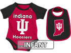 Indiana Hoosiers Colosseum NCAA Infant Rocker Bib/Bodysuit Set Infant Apparel