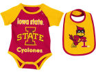 Iowa State Cyclones Colosseum NCAA Newborn Junior Creeper/Bib Set Newborn & Infant