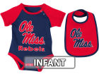 Mississippi Rebels Colosseum NCAA Infant Rocker Bib/Bodysuit Set Infant Apparel