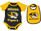 Missouri Tigers Colosseum NCAA Newborn Junior Creeper/Bib Set Newborn & Infant