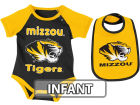 Missouri Tigers Colosseum NCAA Infant Rocker Bib/Bodysuit Set Infant Apparel