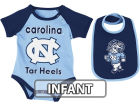 North Carolina Tar Heels Colosseum NCAA Infant Rocker Bib/Bodysuit Set Infant Apparel