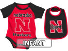 Nebraska Cornhuskers Colosseum NCAA Infant Rocker Bib/Bodysuit Set Infant Apparel