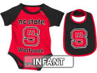 North Carolina State Wolfpack Colosseum NCAA Infant Rocker Bib/Bodysuit Set Infant Apparel