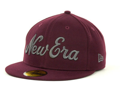 New Era Originals Script 59FIFTY  Hats