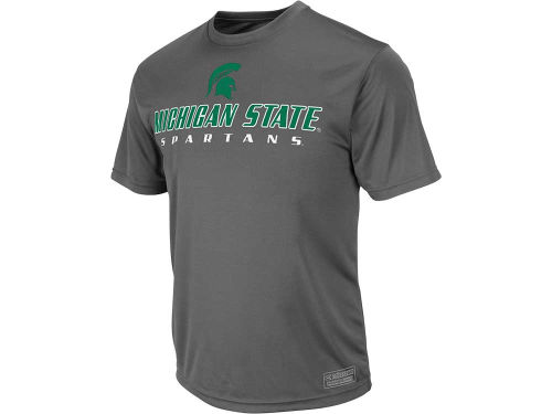 Michigan State Spartans Colosseum NCAA Rush T-Shirt