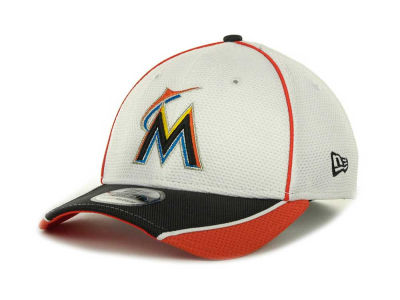 Miami Marlins MLB Abrasion Plus 39THIRTY Cap Hats